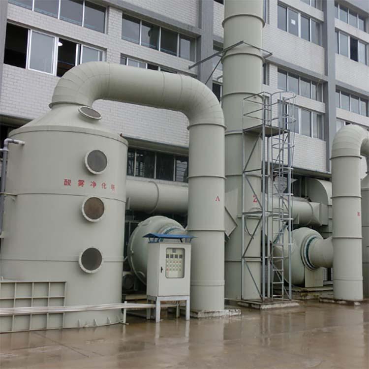 PP喷淋塔,注意事项,废气处理设备
