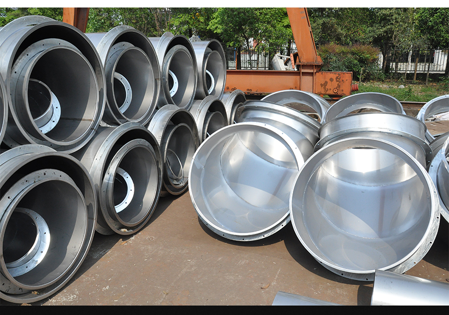 不锈钢风管,腐蚀性气体排风管,防腐管道,304风管,活套法兰对接风管,仁信源风管